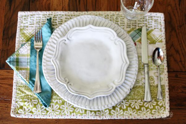 Summertime Sewing Project Placemats Amp Napkins Nichol