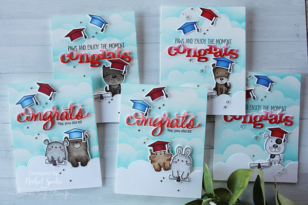 Fun Critters Graduation Cards (Nichol Spohr LLC)