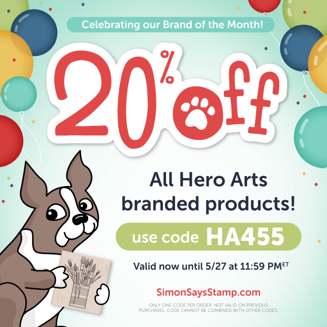 20 Off Hero Arts Brand of the Month_low text_1080-01