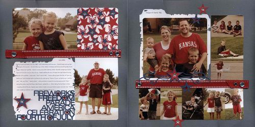 Fourth of July 2006 Layout