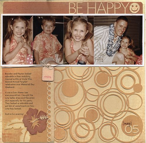 Be happy april 2009