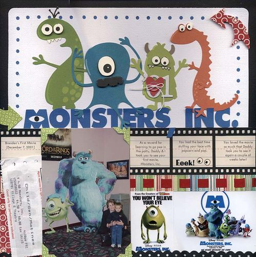 Monsters inc layout